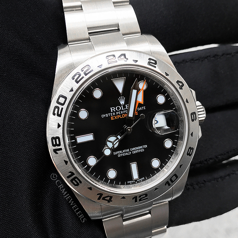 Rolex Explorer II Stainless Black