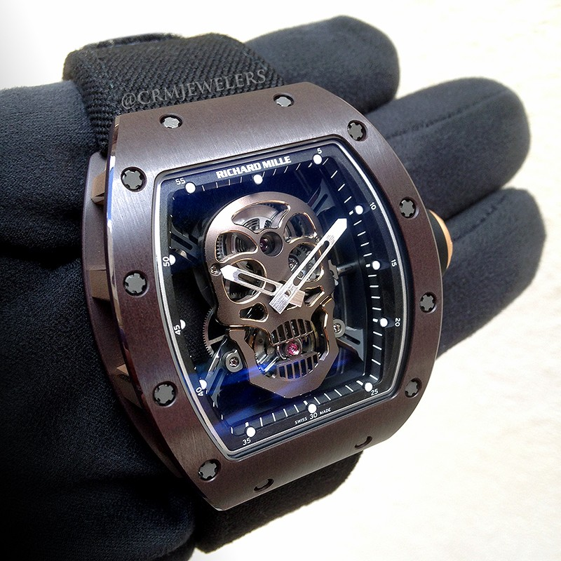 Richard Mille Rm 052 Tourbillon Skull Asia Edition