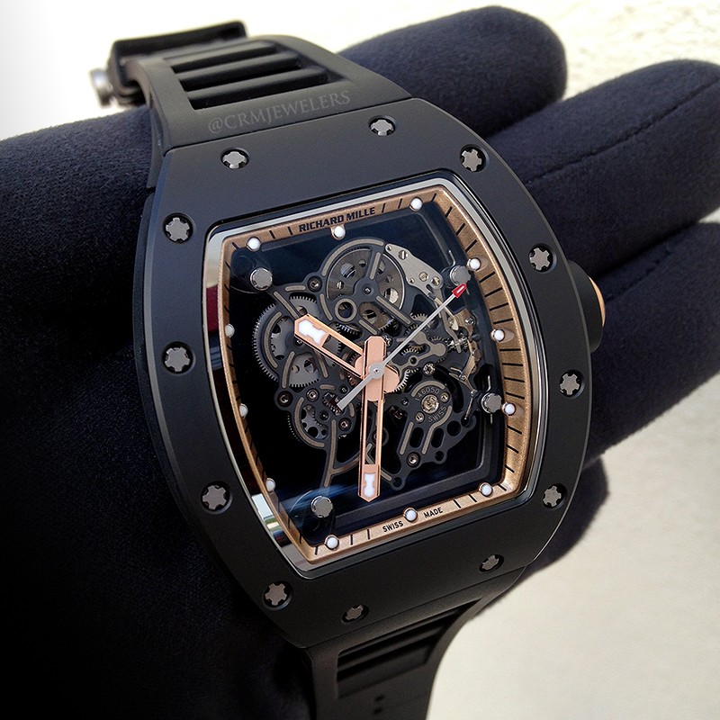Richard Mille Rm 055 Bubba Watson Crm Jewelers Miami Fl