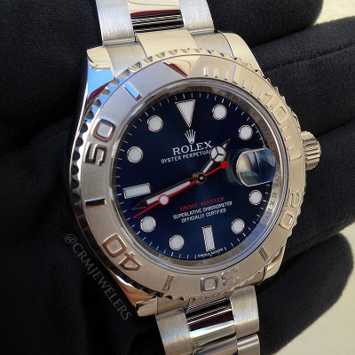 8146e2abea4 Rolex Yacht-Master - Pre-Owned - CRM Jewelers - Miami
