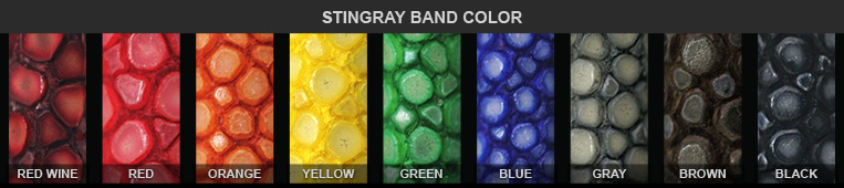 stingray bracelet colors