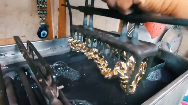 24k electroplating chain