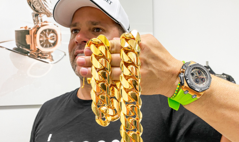 Miami Cuban Link Chains And Bracelets