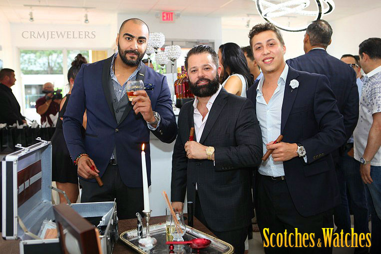 Scotches & Watches – CRM Jewelers' Grand Opening a Big Success!
